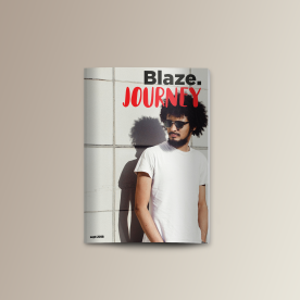 Couverture du magazine Blaze Journey