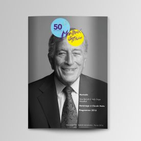 Couverture du magazine mensuel