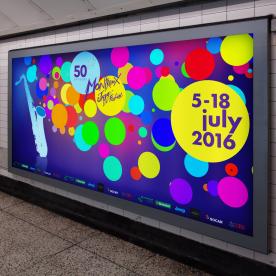 Affiche métro