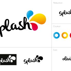 Présentation du logo sans le slogan